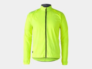 Bontrager Jacke Circuit Wind M Radioactive Yellow