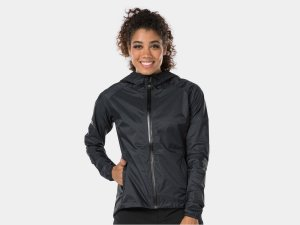 Bontrager Jacket Avert Bike Rain Women Large Black