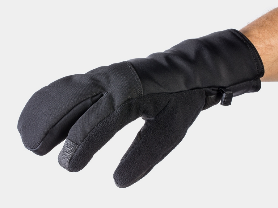 Bontrager Glove Velocis Split Finger Softshell Large Black