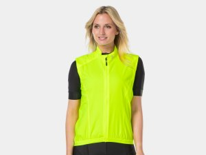 Bontrager Vest Circuit Wind Women Small Radioactive Yellow