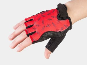 Bontrager Glove Kids Large/X-Large (7-10) Red Paper Airplane