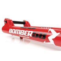 Marzocchi Gabel Bomber 58 27.5  203 Grip Fit 20TAx110 1.125 gloss red 52 R