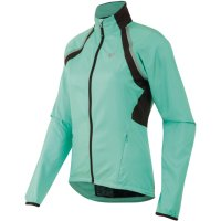 PEARL iZUMi W ELITE Barrier Convertible Jacket aqua mint